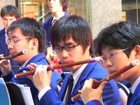 香港華仁書院中樂團表演