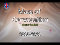 Mass of Convocation