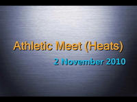 Athletic Meet (Heats)