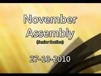 Assembly - November 2010